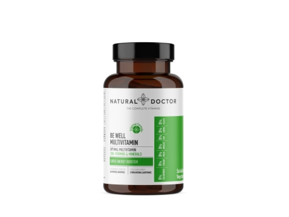 NATURAL DOCTOR BE WELL MULTIVITAMIN (EX ONE A DAY MULTIVITAMIN) 60CAPS